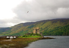 Castle in Scottish Highlands Royalty Free Stock Photography