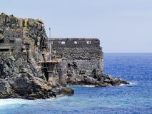 Castle of Sea Stock Photo