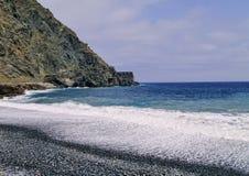 Castle of Sea on La Gomera Royalty Free Stock Images