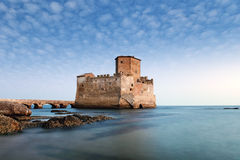 Castle on the sea Stock Images
