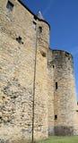 Castle of Sedan stock photo