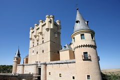 Castle at Segovia Stock Image