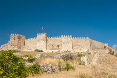 Castle at Selcuk Royalty Free Stock Image