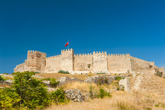 Castle at Selcuk Stock Photos