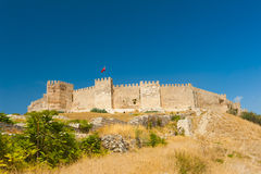 Castle at Selcuk Royalty Free Stock Photos