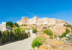 Castle at Selcuk Stock Images