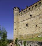 Castle Serralunga d'Alba, Piedmont, Italy Stock Images
