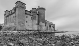 Castle Severa Santa στοκ εικόνα