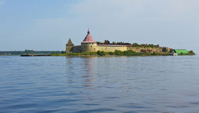 Castle Shlisselburg, Russia Royalty Free Stock Images
