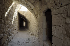 Castle Shobak catacomb. Stock Image