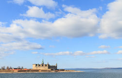 Castle on the shores of Oresund Royalty Free Stock Photo