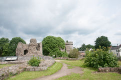 Castle in shropshire Stock Images
