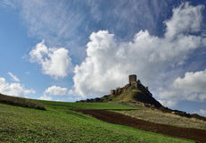 Castle of Sicily Royalty Free Stock Image