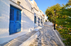 Castle of Sifnos island Greece royalty free stock photography