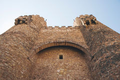 Castle of Siguenza, Guadalajara Stock Photography