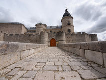 Castle of Simancas, Valladolid Stock Photo