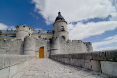 Castle of Simancas, Valladolid Stock Images