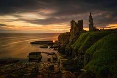 Castle Sinclair Girnigoe royalty free stock photography