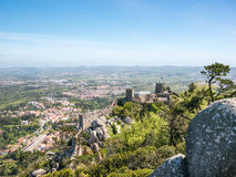The Castle in Sintra Royalty Free Stock Images