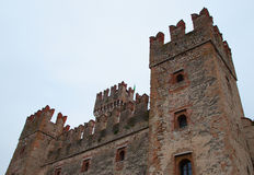 Castle of Sirmione Royalty Free Stock Image