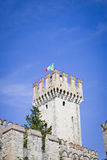 Castle in Sirmione, Italy, Europe Royalty Free Stock Photo