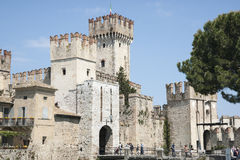 Castle Sirmione, Italy Stock Image