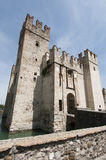 The castle of Sirmione on Lake Garda Stock Images