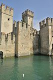 Castle in Sirmione Royalty Free Stock Photography
