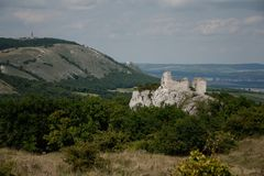 Castle Sirotci hradek, Royalty Free Stock Photos
