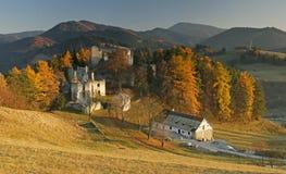 Castle Sklabina royalty free stock photography