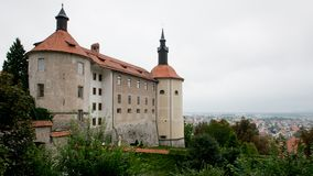 The Castle of Skofja Loka Royalty Free Stock Images