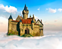 Castle In The Sky Royalty Free Stock Images