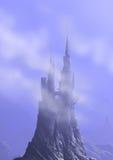 Castle in sky Stock Photos