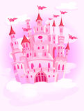 Castle in the sky Royalty Free Stock Photo