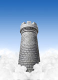 Castle In The Sky Royalty Free Stock Photos