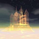 Castle in the sky Stock Photos