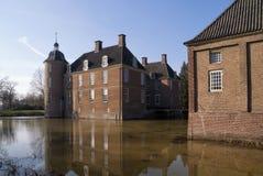 Slangenburg castle near Doetinchem. Castle Slangenburg near Doetinchem in the Dutch region Achterhoek Stock Images