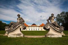 Castle in Slavkov Stock Images
