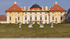 Castle Slavkov, Czech republic Stock Photos