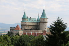Castle in Slovakia Stock Images