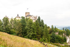 Castle in Slovakia Royalty Free Stock Photography