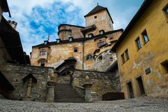 Castle in Slovakia Stock Image