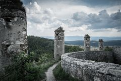Castle in Slovakia Royalty Free Stock Photos