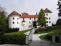 Castle (Slovenia). A very big house stock image