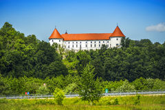 Castle in Slovenia Stock Photos