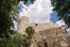 Castle in Smolen (Poland) stock photos