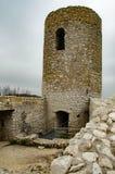 Castle in Smolen village Poland stock photography