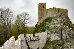 Castle in Smolen village Poland. Castle in Smolen village Krakow-Czestochowa jura region royalty free stock photos
