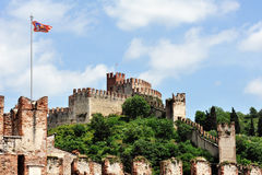 The Castle of Soave Royalty Free Stock Photos