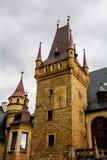 Castle Sobotka Gorka. Old in the process of restoration Castle Sobotka Gorka Poland Stock Photos